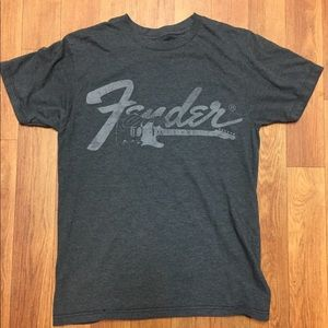 Fender Guitars Classic Logo T-Shirt Vintage
